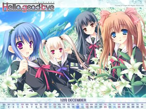 Rating: Safe Score: 5 Tags: calendar flowers group hello_good-bye hiiragi_koharu moekibara_fumitake rindou_natsume saotome_suguri school_uniform yukishiro_may User: oranganeh