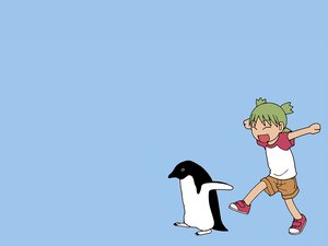 Rating: Safe Score: 12 Tags: animal bird blue koiwai_yotsuba penguin yotsubato! User: Oyashiro-sama