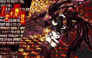 Rating: Safe Score: 31 Tags: black_rock_shooter gun insane_black_rock_shooter mokyutan weapon User: anaraquelk2