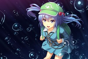 Rating: Safe Score: 120 Tags: athrun1120 bubbles kawashiro_nitori touhou water User: FormX