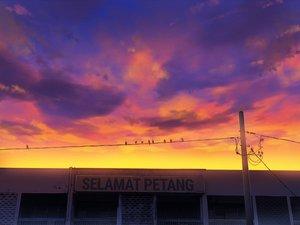 Rating: Safe Score: 18 Tags: animal bird building clouds mclelun original sky sunset watermark User: RyuZU