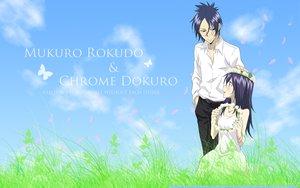 Rating: Safe Score: 21 Tags: bicolored_eyes dokuro_chrome katekyou_hitman_reborn male rokudou_mukuro User: Arczer