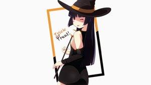 Rating: Safe Score: 73 Tags: black_hair blush dress gokou_ruri halloween hat long_hair ore_no_imouto_ga_konna_ni_kawaii_wake_ga_nai red_eyes tagme_(artist) white witch_hat User: Shaggy410