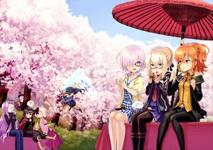 Rating: Safe Score: 3 Tags: aqua_eyes black_hair blonde_hair boots cape chacha_(fate/grand_order) cherry_blossoms dress drink fate/grand_order fate_(series) fate/stay_night food fujimaru_ritsuka_(female) garter_belt garutaisa glasses hat heroine_x heroine_x_alter japanese_clothes long_hair matthew_kyrielite nobunaga_oda_(fate) orange_eyes orange_hair pantyhose pink_eyes pink_hair purple_hair red_eyes rider saber sakura_saber seifuku short_hair shorts skirt sky tie tree umbrella wink yellow_eyes User: RyuZU