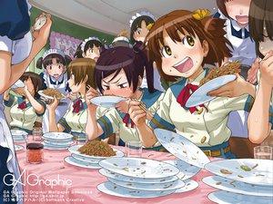 Rating: Safe Score: 14 Tags: food gagraphic logo naruko_hanaharu watermark User: Oyashiro-sama