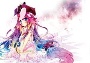 Rating: Safe Score: 37 Tags: animal_ears bunny_ears bunnygirl e.a.r.t.h kamiya_yuu shiro_(e.a.r.t.h) white User: w7382001
