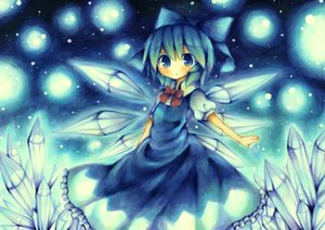 Rating: Safe Score: 71 Tags: blue blue_eyes blue_hair cirno dress fairy short_hair snow touhou wings wiriam07 User: PAIIS