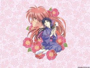Rating: Safe Score: 8 Tags: flowers himura_kenshin japanese_clothes kamiya_kaoru male rurouni_kenshin scar User: Oyashiro-sama
