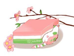 Rating: Safe Score: 53 Tags: animal cat cherry_blossoms flowers food hakuchizu_(jedo) nobody original signed waifu2x white User: otaku_emmy