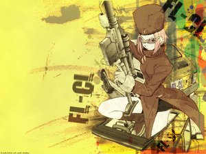 Rating: Safe Score: 9 Tags: flcl gainax gun kitsurubami weapon User: haruko02