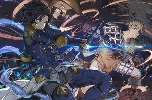 Rating: Safe Score: 99 Tags: armor black_hair granblue_fantasy male mikurou_(nayuta) short_hair sword weapon User: Flandre93