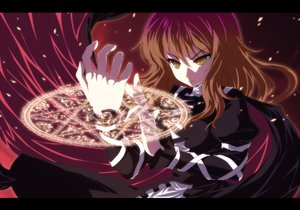 Rating: Safe Score: 71 Tags: brown_eyes brown_hair cape dress hijiri_byakuren isa long_hair magic purple_hair ribbons touhou User: minabiStrikesAgain