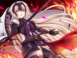 Rating: Safe Score: 61 Tags: fate/grand_order fate_(series) iroha_(shiki) jeanne_d'arc_alter jeanne_d'arc_(fate) User: FormX