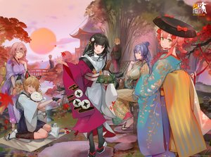 Rating: Safe Score: 28 Tags: animal_ears anthropomorphism autumn black_hair blonde_hair blue_hair dp-12_(girls_frontline) girls_frontline glasses gloves gray_eyes hat idw_(girls_frontline) japanese_clothes kimono logo long_hair mg36_(girls_frontline) mg5_(girls_frontline) pink_hair purple_eyes r93_(girls_frontline) short_hair stockings tabuk_(girls_frontline) tagme_(artist) twintails type_100_(girls_frontline) User: Nepcoheart