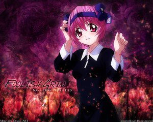 Rating: Safe Score: 21 Tags: elfen_lied nana_(elfen_lied) pink_eyes pink_hair ribbons short_hair User: Oyashiro-sama
