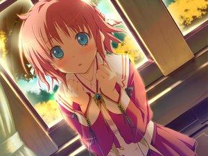 Rating: Safe Score: 6 Tags: amagahara_inaho crying favorite game_cg happy_margaret! kokonoka tears User: 秀悟