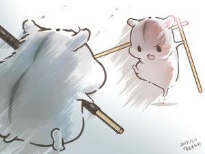 Rating: Safe Score: 42 Tags: animal food kick original pocky polychromatic signed yutaka_kana User: otaku_emmy
