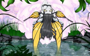 Rating: Safe Score: 48 Tags: aa_megami-sama flowers grass gray_hair leaves morgan_le_fay vector water wings yellow_eyes User: gnarf1975