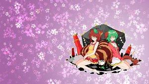 Rating: Safe Score: 48 Tags: flowers futatsuiwa_mamizou ideolo kasodani_kyouko third-party_edit touhou User: xdemonessx