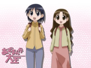 Rating: Safe Score: 12 Tags: azumanga_daioh kurosawa_minamo tanizaki_yukari User: Oyashiro-sama