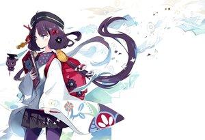 Rating: Safe Score: 46 Tags: blue_eyes fate/grand_order fate_(series) katsushika_hokusai long_hair mitu_yang purple_hair tokitarou_(fate/grand_order) User: sadodere-chan