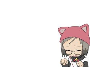 Rating: Safe Score: 6 Tags: bell glasses hat ichigo_mashimaro maid sakuragi_matsuri white User: Oyashiro-sama