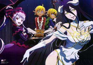 Rating: Safe Score: 28 Tags: albedo aura_bella_fiora blonde_hair breasts dress elbow_gloves fang gloves group horns long_hair maehara_momoko mare_bello_fiore nyantype overlord pink_hair pointed_ears red_eyes scan shalltear_bloodfallen short_hair twintails umbrella yellow_eyes User: RyuZU
