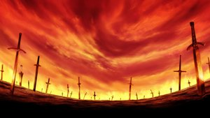 Rating: Safe Score: 91 Tags: fate_(series) fate/stay_night landscape nobody scenic sword weapon User: patokite91