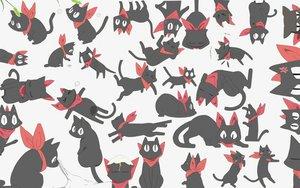 Rating: Safe Score: 83 Tags: animal cat nichijou sakamoto_(nichijou) User: Mazinger
