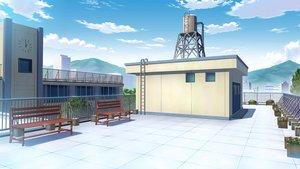 Rating: Safe Score: 34 Tags: clouds flowers hatsubotaru nobody original park rooftop scenic sky User: RyuZU