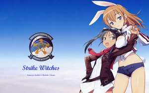 Rating: Safe Score: 34 Tags: animal_ears charlotte_e_yeager francesca_lucchini shimada_fumikane strike_witches User: pantu