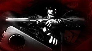 Rating: Safe Score: 113 Tags: alucard black_hair gloves hellsing red_eyes vampire weapon User: hellgate24