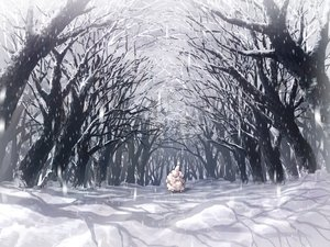 Rating: Safe Score: 76 Tags: animal forest mori_(m_p_m) nobody original scenic sheep snow tree winter User: Flandre93