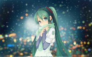 Rating: Safe Score: 131 Tags: aqua_eyes aqua_hair crying hatsune_miku long_hair neko_sakana scarf snow third-party_edit twintails vocaloid watermark User: Mund