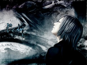 Rating: Safe Score: 27 Tags: final_fantasy final_fantasy_vii final_fantasy_vii_advent_children kadaj User: haru3173