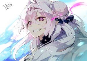 Rating: Safe Score: 45 Tags: azur_lane close fang headband hoshizaki_reita long_hair pink_eyes pointed_ears signed siren_(azur_lane) white_hair User: otaku_emmy