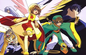 Rating: Safe Score: 3 Tags: card_captor_sakura clamp kero kinomoto_sakura scan User: RyuZU