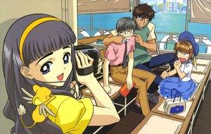 Rating: Safe Score: 6 Tags: card_captor_sakura clamp daidouji_tomoyo kero kinomoto_sakura kinomoto_touya scan tsukishiro_yukito User: RyuZU