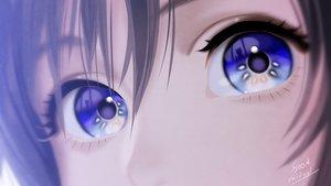 Rating: Safe Score: 85 Tags: animal blue_eyes cat close foo_midori original reflection short_hair signed silhouette User: otaku_emmy
