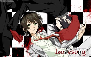 Rating: Safe Score: 17 Tags: blood nabari_no_ou rokujou_miharu yoite User: atlantiza