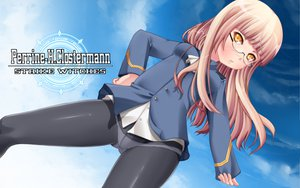 Rating: Safe Score: 41 Tags: chibimame glasses panties pantyhose perrine-h_clostermann strike_witches underwear User: HawthorneKitty