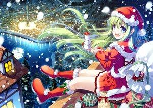 Rating: Safe Score: 96 Tags: christmas miyase_mahiro original User: RyuZU