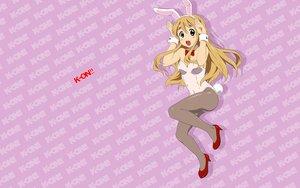 Rating: Safe Score: 40 Tags: animal_ears bunny_ears bunnygirl k-on! kotobuki_tsumugi leotard tail User: HawthorneKitty