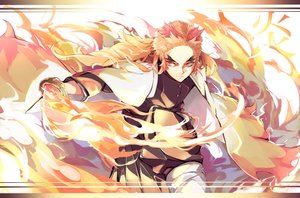 Rating: Safe Score: 17 Tags: all_male fire kimetsu_no_yaiba male rengoku_kyoujurou tomocha_(tmc_tmc8) User: FormX