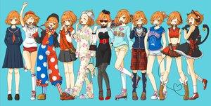 Rating: Safe Score: 61 Tags: anko_anko group meiko orange_eyes orange_hair sakine_meiko vocaloid User: FormX