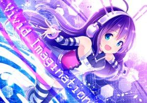Rating: Safe Score: 73 Tags: blue_eyes headphones idolmaster idolmaster_million_live! ima_(lm_ew) long_hair mochizuki_anna purple_hair thighhighs User: mattiasc02