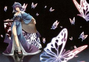 Rating: Safe Score: 41 Tags: butterfly minakuchi_takashi saigyouji_yuyuko touhou water User: Oyashiro-sama