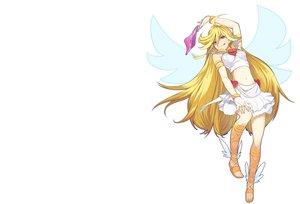 Rating: Safe Score: 145 Tags: blonde_hair panties panty_&_stocking_with_garterbelt panty_(character) shirabi_(life-is-free) underwear white wings User: aoyoru