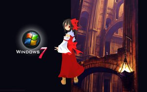 Rating: Safe Score: 13 Tags: hakurei_reimu japanese_clothes microsoft miko touhou windows User: Makinosunohi