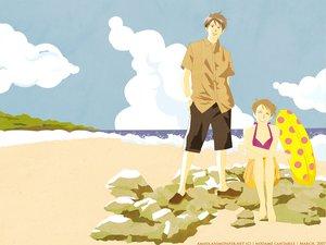 Rating: Safe Score: 4 Tags: beach chiaki_shinichi clouds noda_megumi nodame_cantabile sky User: Oyashiro-sama